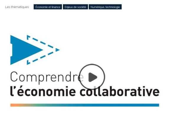 photo MOOC Comprendre l'économie collaborative